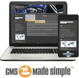 CMS Made Simple hosting
