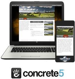 Concrete5 hosting web