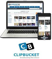 ClipBucket video hosting