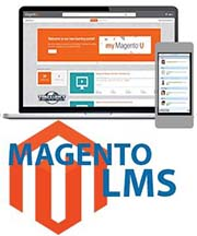 Magento lms elearning