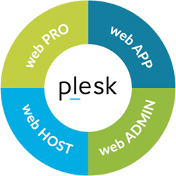 plesk panel de control Wordpress VPS
