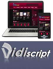 VidiScript video hosting
